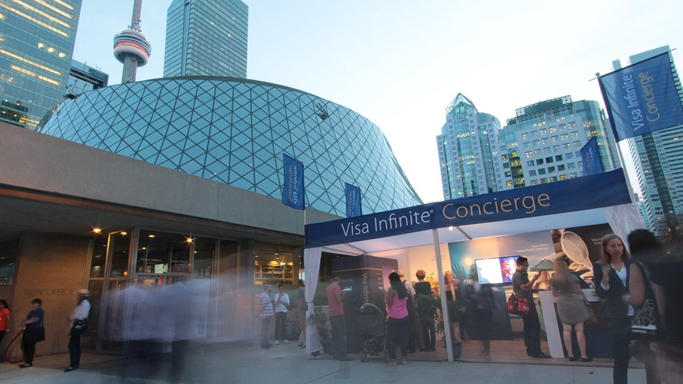 VISA | TIFF Video Booth