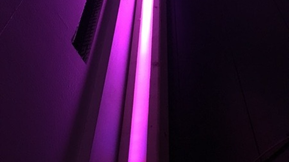 Light Installation for Lustre and LULU - Initial lighting and visual tests at home