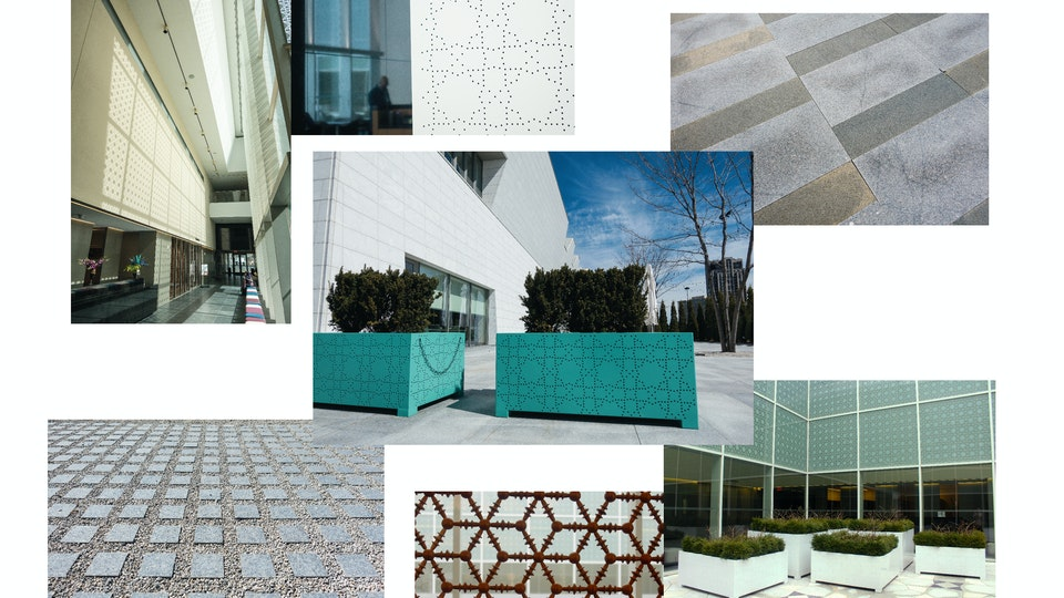 Aga Khan Museum: Book & Hat - Photos I took for the book - Pattern & Texture