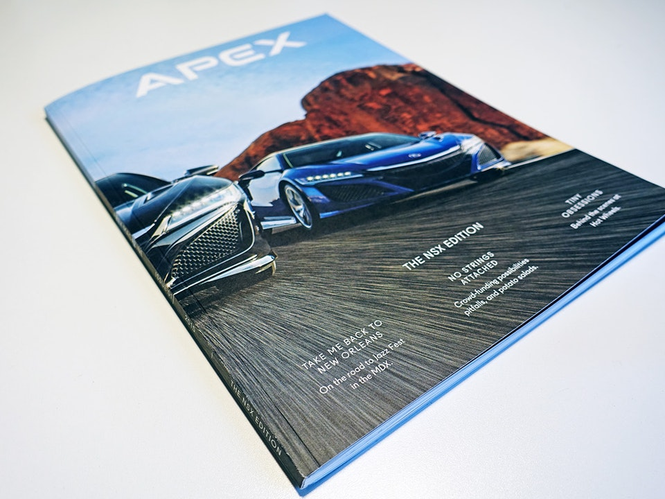 APEX Magazine for Acura