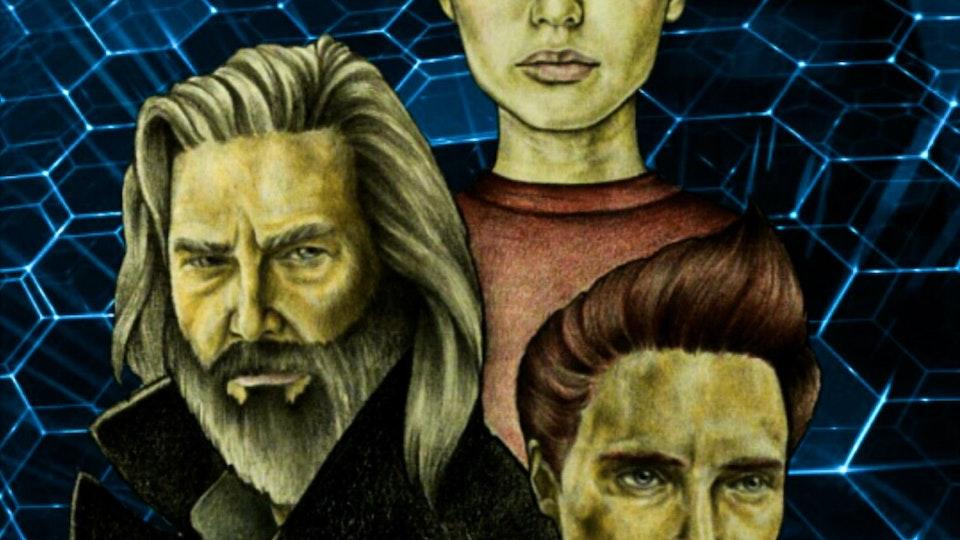 Graphics - Cyber maffia war cover design Mixed media; 2017