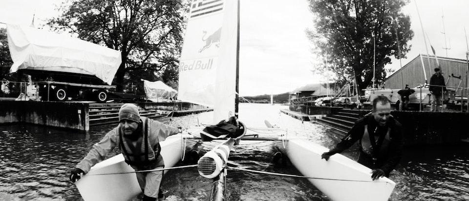 Tasos Kosmatopoulos - Red bull - Sailing champions