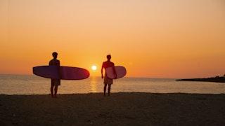 Kyma Sunset 3 surfers basic grade