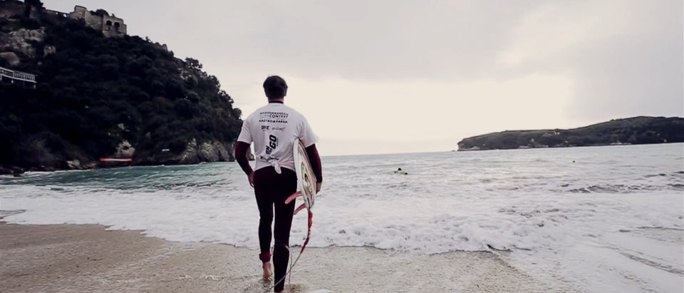 ANKO - A surf comp in the Ionian