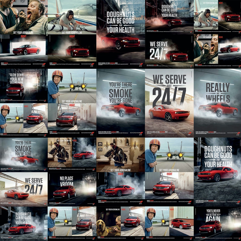 SHIRAKIPHOTO & DESIGN LLC - 2015 International Dodge Ad Campaign: Final Layouts