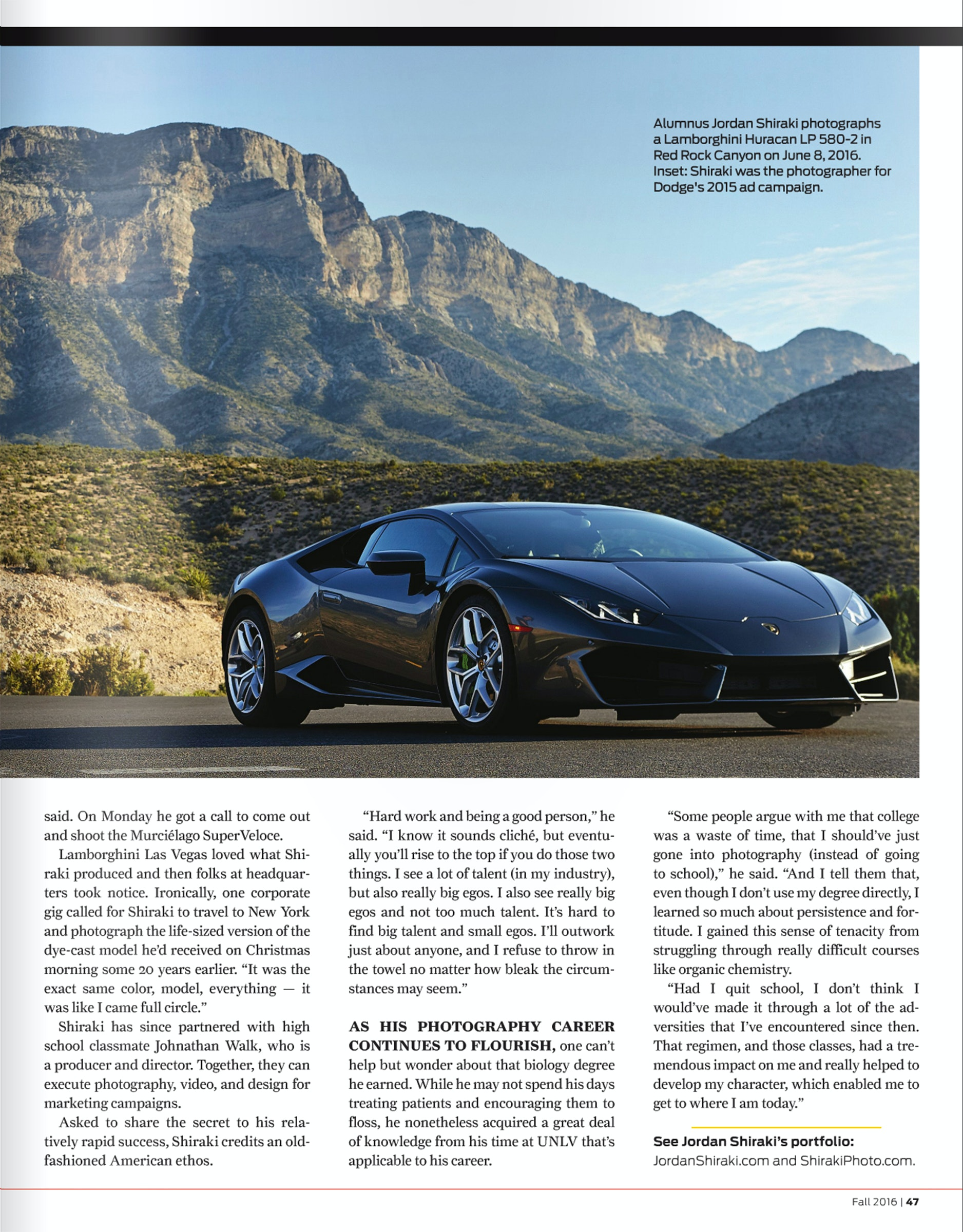 SHIRAKIPHOTO & DESIGN LLC - 0001_0070_unlv mag career in overdrive page 2