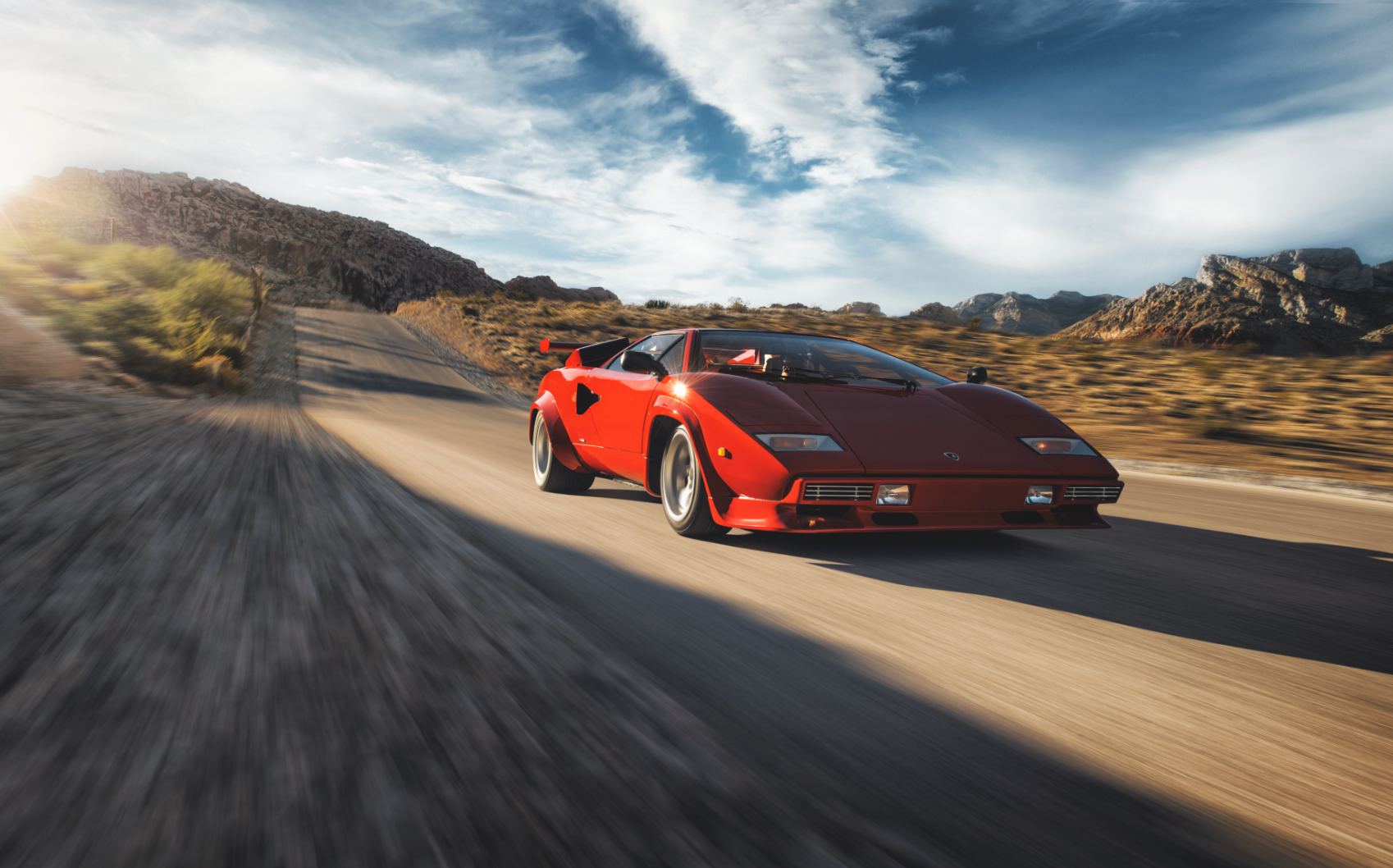 COUNTACH // Childhood Dream Becomes Reality