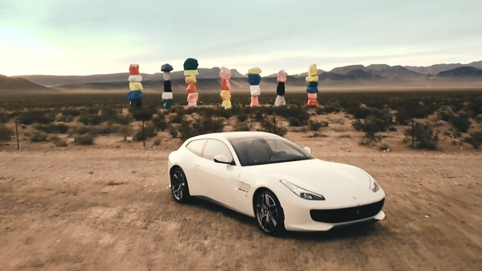 SHIRAKIPHOTO & DESIGN LLC - FERRARI GTC4Lusso x Seven Magic Mountains