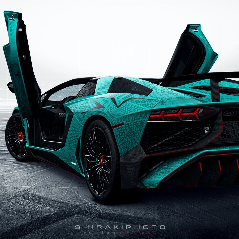 SHIRAKIPHOTO & DESIGN LLC - 2017 Lamborghini Aventador SuperVeloce Roadster LP750-4