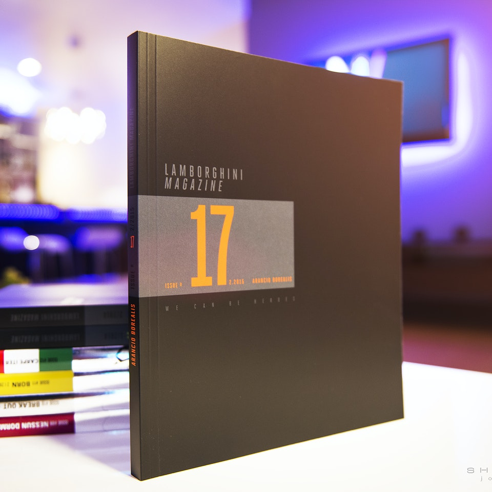 SHIRAKIPHOTO & DESIGN LLC - Finally Made it into Lamborghini's World Wide Publication
