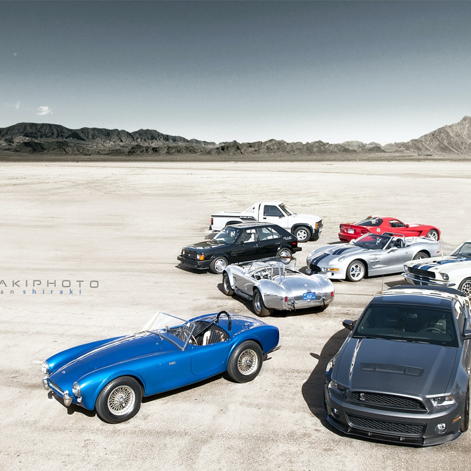 SHIRAKIPHOTO & DESIGN LLC - Carroll Shelby's Legacy: The $30 Million Dollar Shot