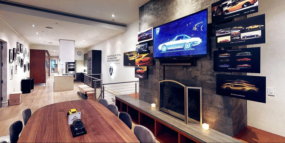 SHIRAKIPHOTO & DESIGN LLC - LAMBORGHINI LOUNGE // new york city